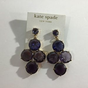 Kate Spade Crystal Confection Drop Earrings